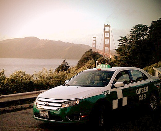 SF Green Cab - A carbon neutral driver owned taxi company