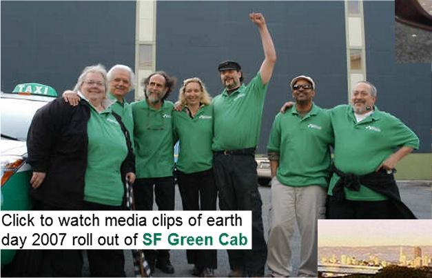 SF Green Cab - Media